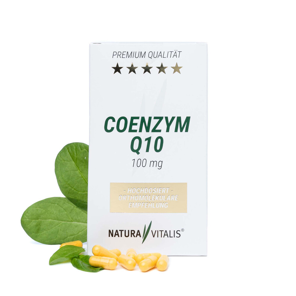 Coenzym Q10 hochdosiert 100mg - 180 Kapseln