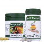 Enzym-Mix 120 Kapseln + Multi Complete 60 Kapseln