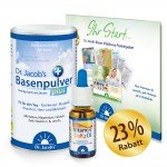Set: Basenpulver plus 300g + Vitamin D3K2 Öl - 20ml