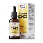 Vitamin D3 1.000 I.E. + K2 20 µg Tropfen - 25ml
