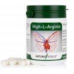High-L-Arginin von Natura Vitalis® - 120 Kapseln